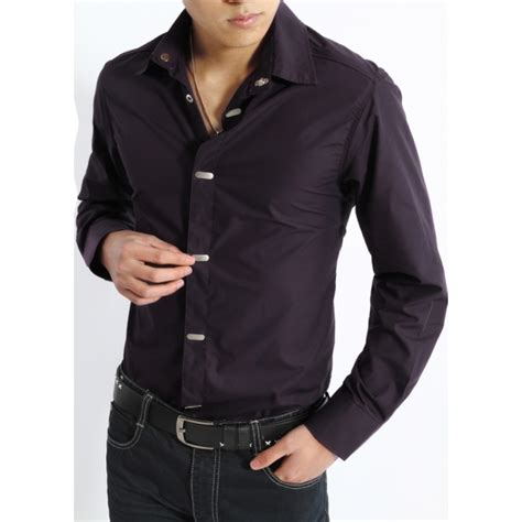 Kemeja Pria Hitam Impor Koreakemeja Kantor Casual Kemeja Fashion Korea kemeja kantor pria kp043 pfp store