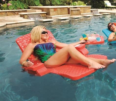 Reclining Pool Float by Rec Swimming Pool Float Chair Lounge Soft