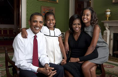 the first family white house releases portrait of first family american