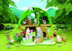 sylvanian haus sylvanian families kindergarten baumhaus store petit