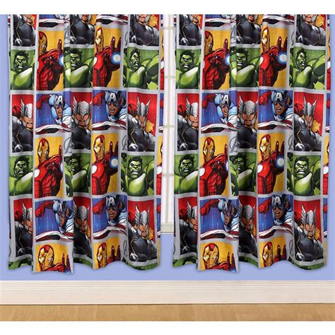 avengers curtains marvel avengers 66 quot x 72 quot curtains official iron man hulk