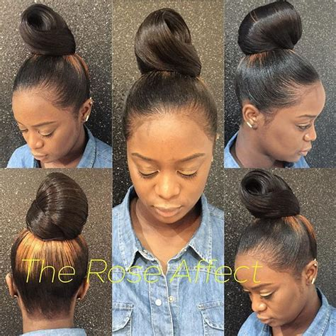 weave for top knot 2053 best images about hair beauty that i love on