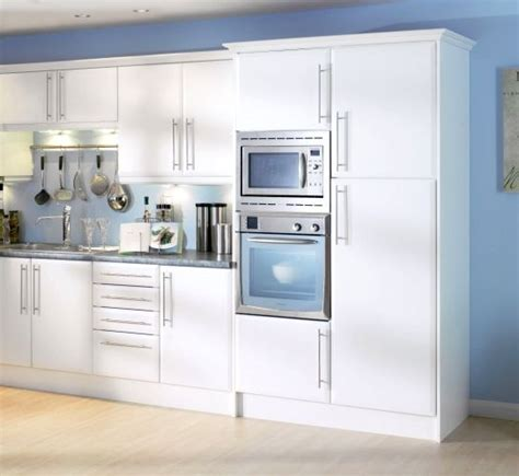 Mfi Kitchen Cupboard Doors beveled edge matt white kitchen cupboard doors fit howdens b q magnet mfi units ebay