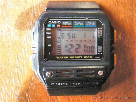 casio altimetro reloj casio barometro