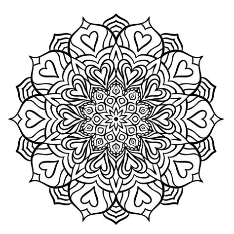 intricate heart coloring pages intricate heart pages free coloring pages