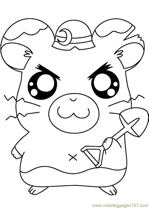 hamtaro coloring pages online coloring pages hamtaro coloring page 09 cartoons