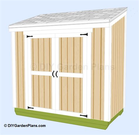 4 X 10 Shed Plans by 4 X 8 Shed Plans Free Storage Shed Plans Shed