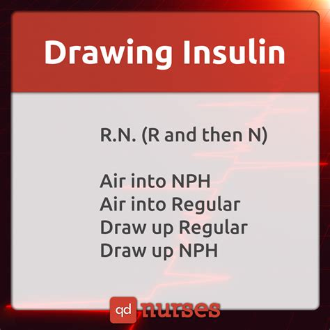 Drawing Up Insulin by 6 Memes And A Chart About Insulin Qd Nurses
