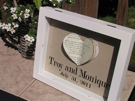Wedding Anniversary Gift Diy by Personalized Wedding Or Anniversary Gift Diy
