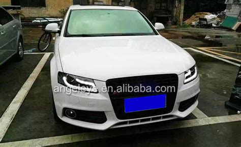 2010 audi a4 headlights new facelift b8 5 style headlights for pre facelift b8