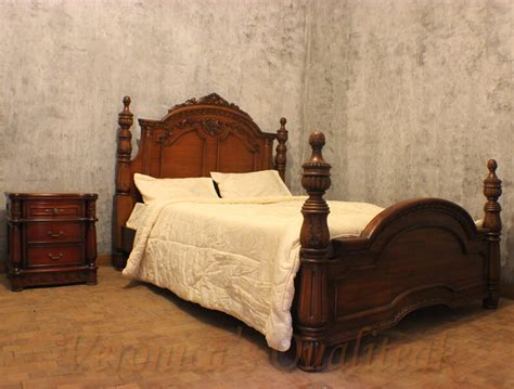 vintage mahogany bedroom set antique mahogany bedroom sets with carving by veronicas qualiteak