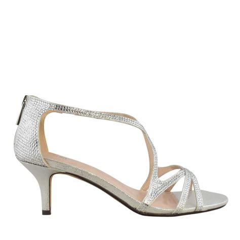 taxi chanel low heel sandal low heel evening dress