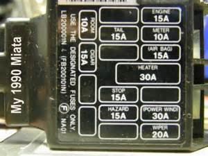 90 mazda miata fuse box diagram 90 get free image about wiring diagram