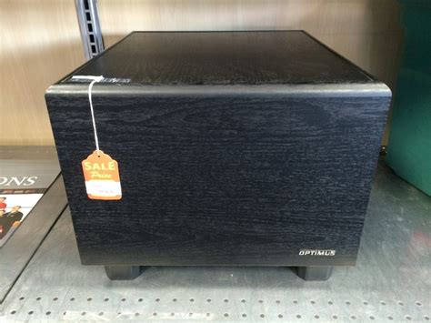 optimus home theater subwoofer pro sw  good buya