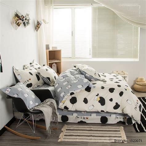 popular cow bedding buy cheap cow bedding lots from china