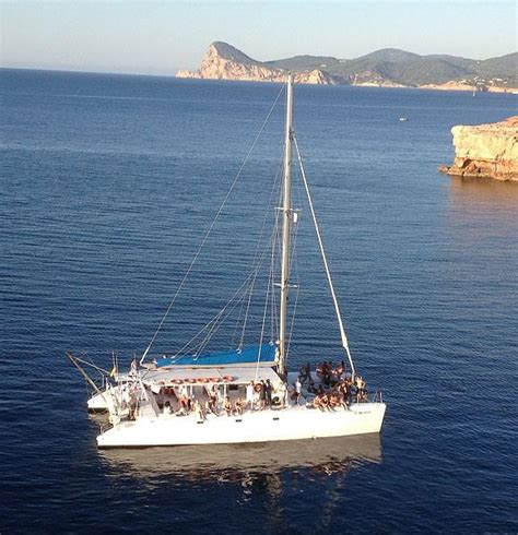 sunset catamaran cruise ibiza exclusive day sunset boat rental best hired charter