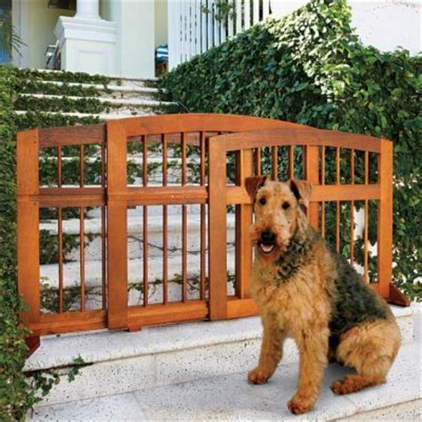 porch gate for dogs eucalyptus sliding pet gate