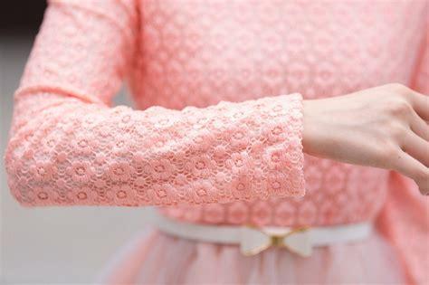 Dress Bahan Lace Motif Bunga Import mini dress motif bunga cantik terbaru model terbaru