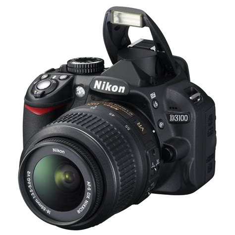 Dslr Nikon D3100 Kit nikon d3100 digital slr with asf dx 18 55mm and 55