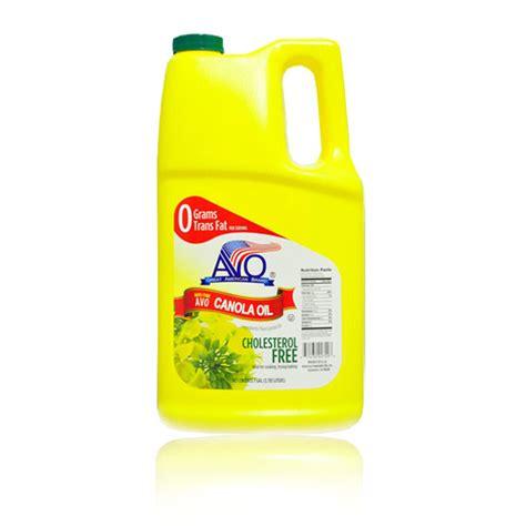 Shelf Canola by Avo Canola 1 Gallon American Vegetable Oils Inc