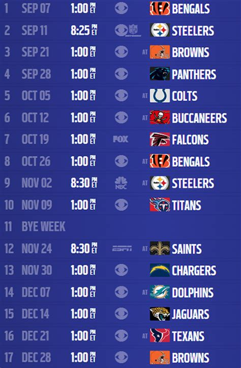 printable ravens schedule analysis baltimore ravens 2014 schedule nfl com