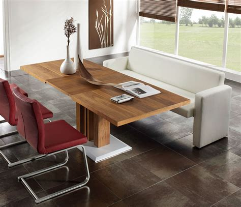 Modern Dining Table With Bench contemporary sofa dining tables wharfside contemporary