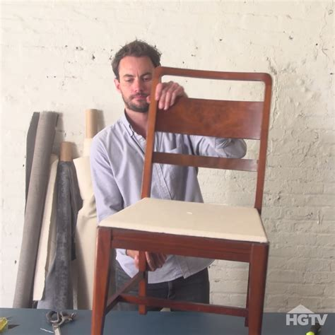How To Reupholster A Dining by How To Re Cover A Dining Room Chair Dining Chairs Room