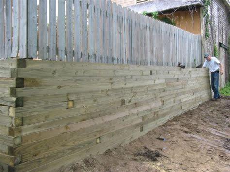Landscape Timbers 4 X 6 Retaining 6x6 Landscape Timbers Backyard Regrading