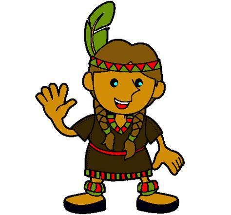 imagenes animadas indigenas dibujo de india pintado por indigena en dibujos net el d 237 a