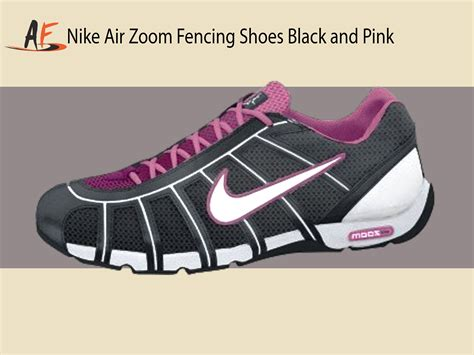 fencing shoes nike air zoom fencing shoes black white pinkfire ii