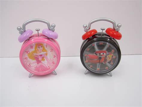 childrens tv disney character alarm clock 2 designs princess cars brand new ebay