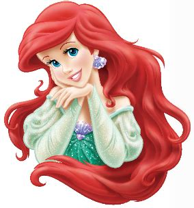 image ariel 55 head shot png disney wiki fandom powered wikia