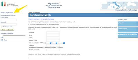 ministero interno cittadinanza registrazione come presentare la domanda di cittadinanza italiana