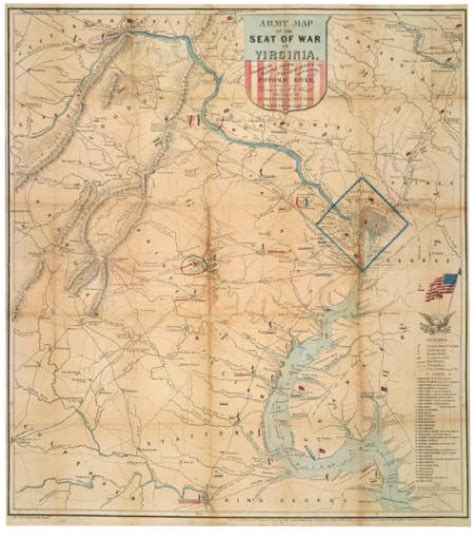 Virginia Civil Court Records Library Of Virginia Civil War Research Guide Maps