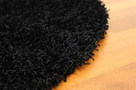 rond kleed 80 cm rond vloerkleed 80 cm fancy zwart trendcarpet nl