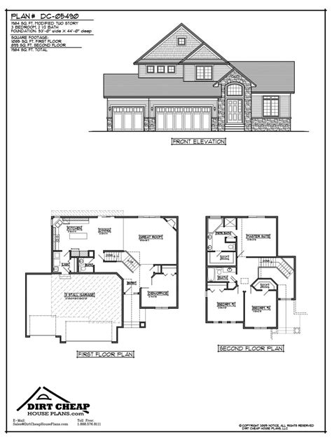 2 story house plans with basement unique cheap home plans 6 two story house plans with