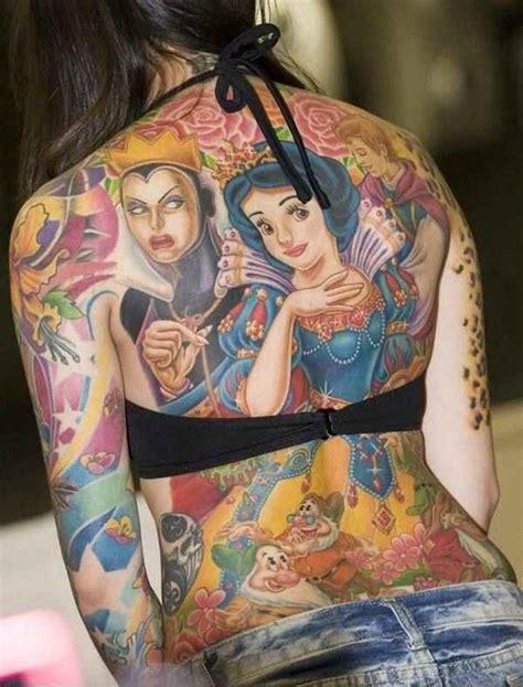head to toe tattoo disney tattoos oh no they didn t