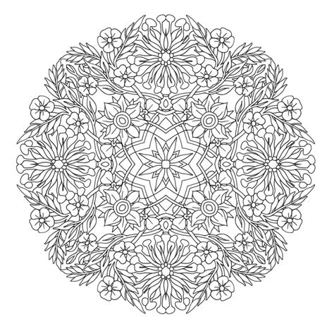 mandala coloring pages for adults coloring pages animal mandala coloring pages free