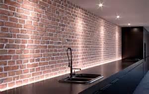 nettoyer les murs en briques dans une cuisine les astucieux