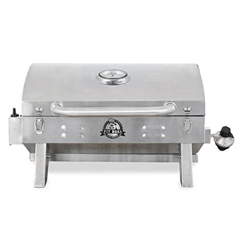 grill pit pit grills 305 sq in stainless steel portable grill