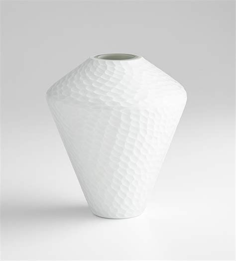 Cyan Design Vase by Small Buttercream Vase By Cyan Design
