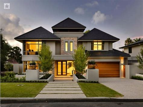 modern two storey house with streamline roof best 10 double storey house plans ideas on pinterest