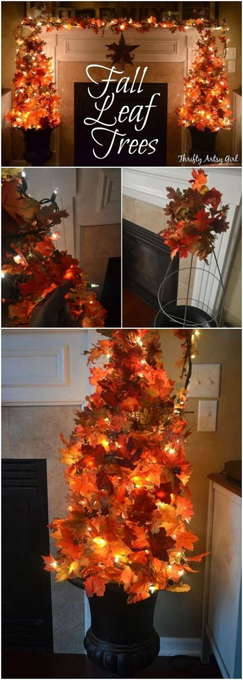 easy to make fall decorations 50 diy fall crafts decoration ideas that are easy and
