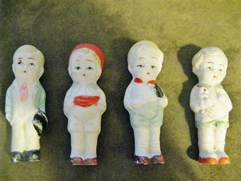 bisque doll made in japan 4 vintage frozen bisque dolls made in japan 3 1