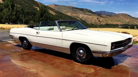 1969 ford galaxie 500 convertible matching numbers codes 390 v8 paint interior zero rust
