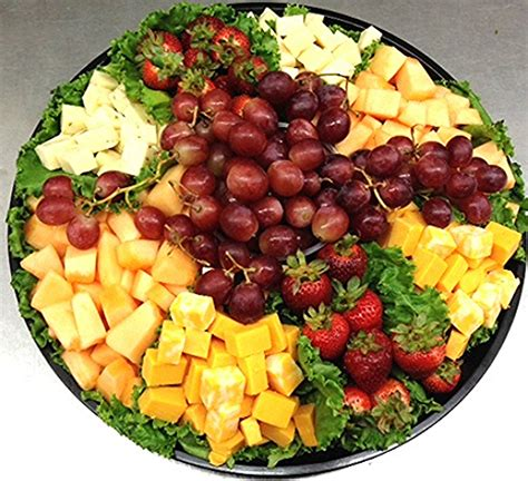 fruit and cheese platter catering menu trays italian food italian
