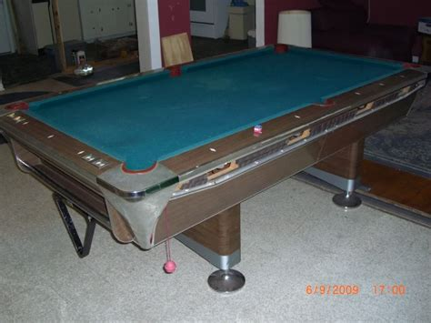 1969 fischer duchess pool table