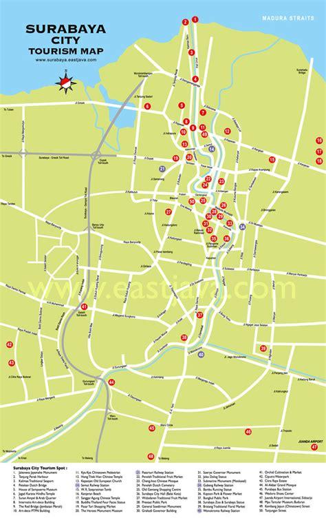 peta kota surabaya  disini  resolusi besar