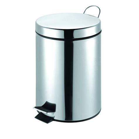 poubelle a pedale cuisine poubelle 224 p 233 dale inox 12 l avec seau achat vente