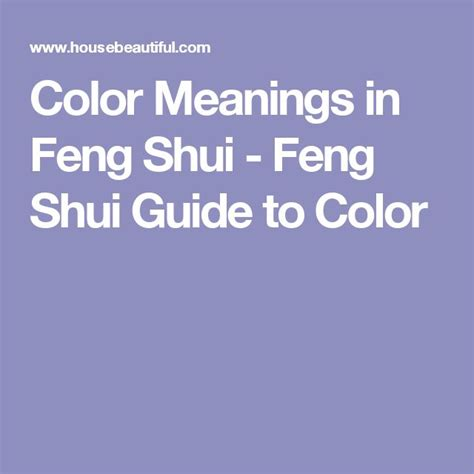 feng shui colors and its meaning midcityeast how to choose the perfect color the feng shui way